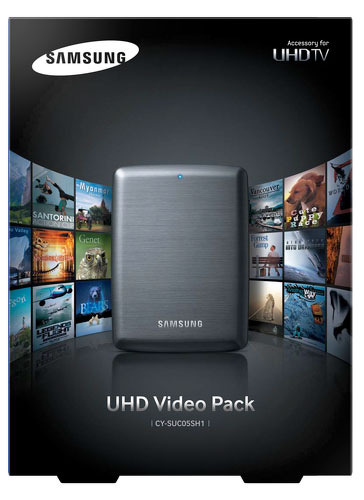 Внешний жесткий диск Samsung UHD Video Pack 500GB (CY-SUC05SH1/RU)