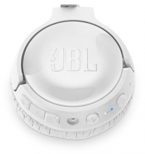 Наушники Bluetooth JBL T600BTNC White